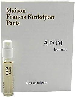 Maison Francis Kurkdjian Apom Homme EDT Vial Sample 2ml(メゾン フランシス クルジャン アポム オム オードトワレ 2ml)[海外直送品] [並行輸入品]