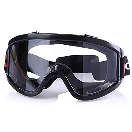 Hörsein Gafas de protección de Virus, Gafas Protectoras de ventilación, Anti-vaho y Vasos de Impacto, a Prueba de Polvo…