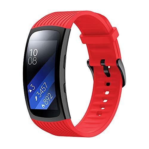 SUPORE Cinturino Gear Fit 2 / Gear Fit 2 PRO, Cinturino Sportivo in Silicone Morbido con Sgancio Rapido per Gear Fit 2 PRO SM-R365 / Gear Fit 2 SM-R360 Smartwatch