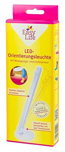 Easy Life - Luz LED orientativa con sensor de movimiento y luz para dormitorio o habitación infantil