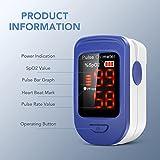 Zoom IMG-1 agptek saturimetro professionale pulsossimetro da