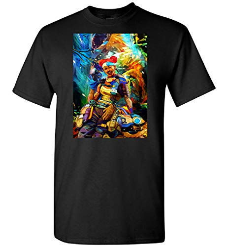 WILLIAM TEE ART Apex Legends Lifeline Combat Medic (1) Camiseta personalizada