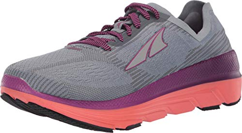 ALTRA Women's ALW1938F Duo 1.5 Road Running Shoe, Gray/Coral - 9.5 M US