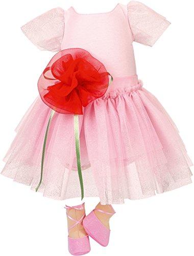 Käthe Kruse 54512 - Ballerina Kleid 52-56 cm, rosa