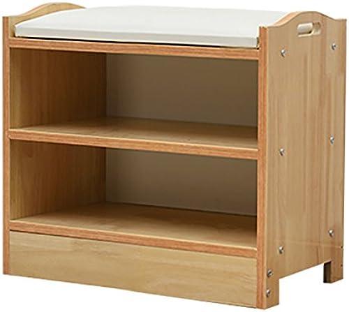 Lagerung Hocker LXF Massivholz Schuhbank Speicher Hocker Multifunktions modernen minimalistischen Stil (Größe   40  30  46.5cm)