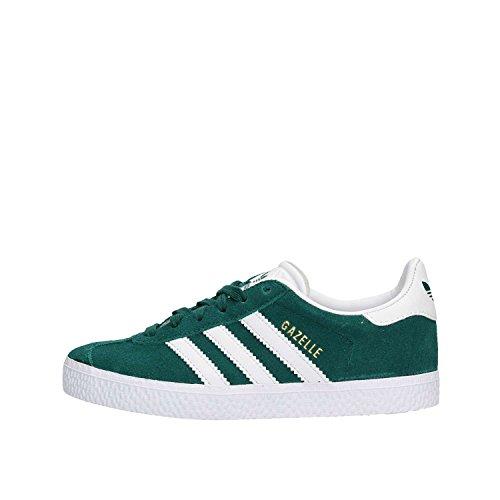 Adidas Gazelle C, Zapatillas de Deporte Unisex niño, Verde (Verde 000), 29 EU