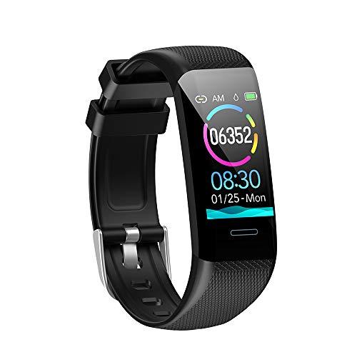 Kolaura Fitness Tracker, Bracelet étanche Tracker d'activité avec Moniteur de fréquence Cardiaque, Moniteur de Sommeil, Notification de Message,...