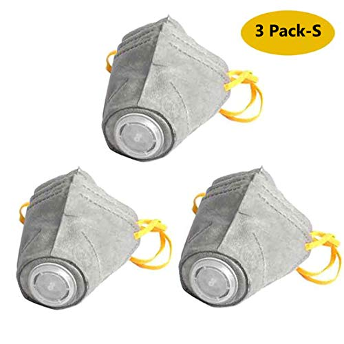 ou Dog Mouth Mask,PM2.5 Filter Protective Mask Soft Cotton Face Mask RespiratorMuzzle Mask with Adjustable Strap for Pet, Reusable, Breathable,Dustproof Puppy Mouth Guard Mask Cover - 3 Pack(S) -  wodeeou