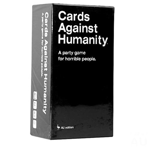 Gioco di carte Cards Against Humanity/Against Humanity AU Edition Deck Giochi di carte Gioco Gioco da tavolo per bambini e party Gioco da tavolo e party game Carte contro l'umanità