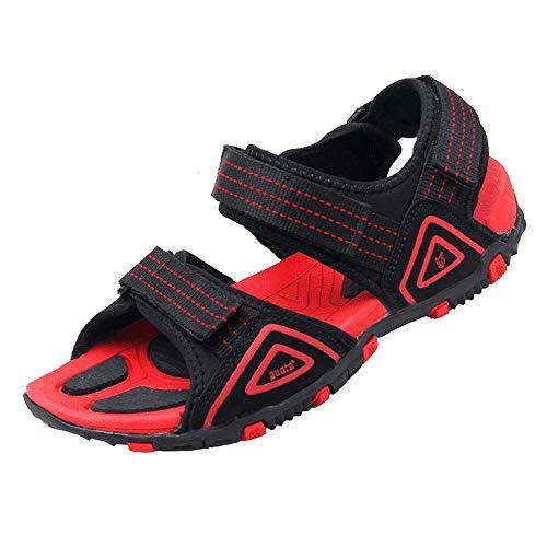 ALLAK Men's Swiftwater River Sandal(Black-red-Lable 44/10 D(M) US Men)