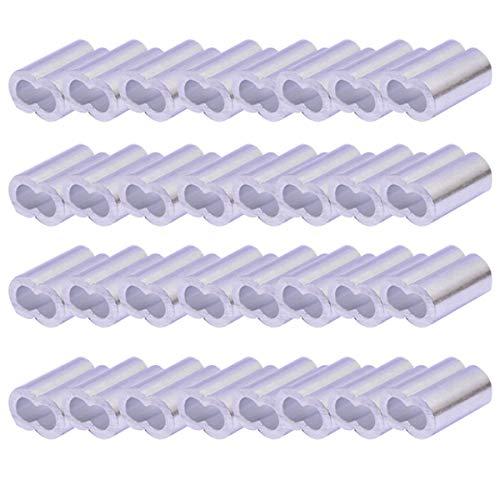 Manga de aluminio, anillo de engarzado de la virola del cable de...