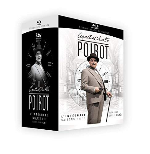 Hercule Poirot-L'intégrale des Saisons 1 à 13 [Blu-Ray] [Blu-ray]