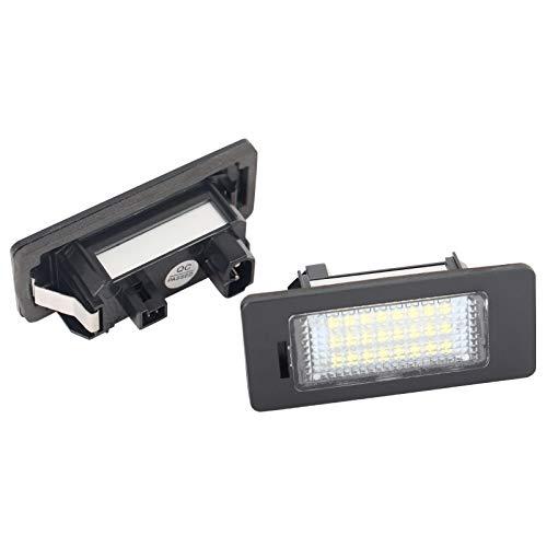 LED Kennzeichenbeleuchtung Nummernschildbeleuchte für 5er Touring E60 E61 F10 F11 F18 E39