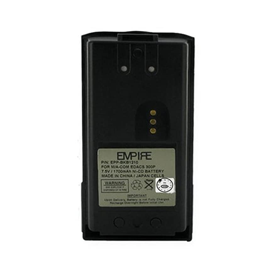 GE/Ericsson BKB191210/4 2-Way Radio Battery (Ni-CD 7.2V 1300mAh) Rechargeable Battery - Replacement for GE/Ericsson BKB191210/3 Battery