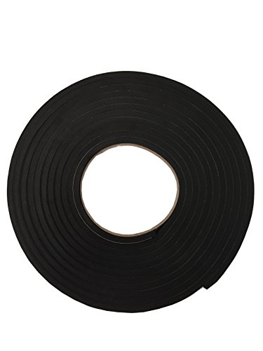 【K-mall】防音 クッション 隙間 テープ パッキン 発砲ゴム【粘着付】厚さ5mm 幅2cm 長さ5メートル (1)