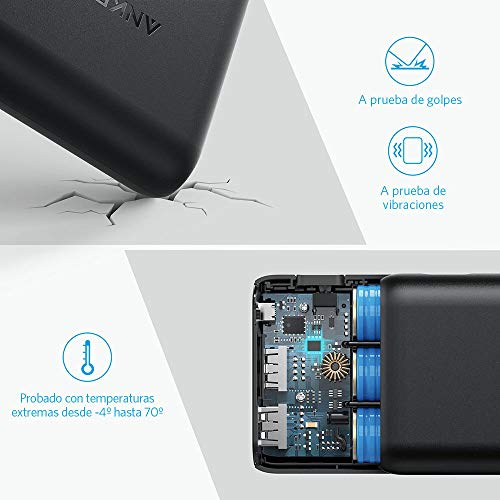 [Upgraded] Anker PowerCore Speed 20000, Qualcomm Quick Charge 3.0 Portable Charger, Backwards Compatible With Quick Charge 1 & 2, with PowerIQ, 20000mAh Power Bank for Samsung, iPhone, iPad and More