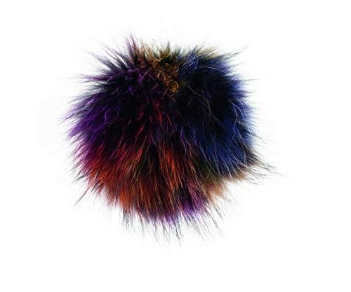 Kimberfeel - Pompon - Bonnet pour Femme, Multicolore