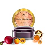 TNW-The Natural Wash Herbal Beetroot Lip Balm For Dry Damaged and Chapped Lips | An Ayurvedic Lip Moisturizer LipBalm Enriched with Cocoa Butter, Shea Butter & Essential Oils (Paraben-free) - 5 gm