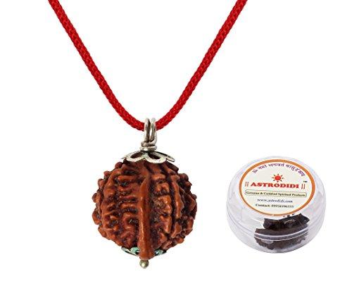 ASTRODIDI Nepali Ganesh Rudraksha Pendant with Lab Certificate