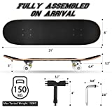 Zoom IMG-1 dazspirit skateboard 31x8 pollici double