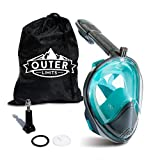 Outer Limits Full Face Snorkel Mask Adult -...