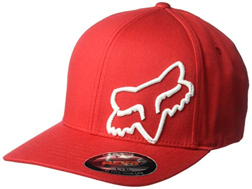 Fox Herren Flex 45 Flexfit HAT Baseball Cap, dunkelrot, X-Large