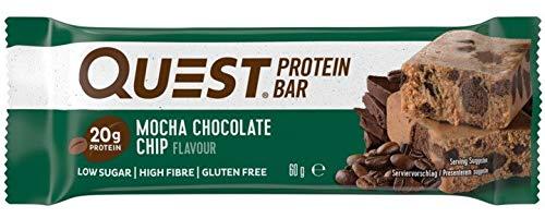 Quest Nutrition Mocha Chocolate Chip Flavour Protein Bar, Gluten free,...