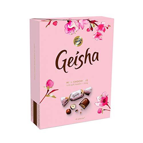 Geisha Melkchocolade snoepjes met hazelnootvulling, 150 g, verpakking van 2 stuks