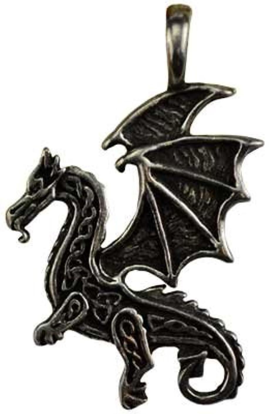 声を出して分散バズケルトFlying Dragon保護アミュレットネックレス