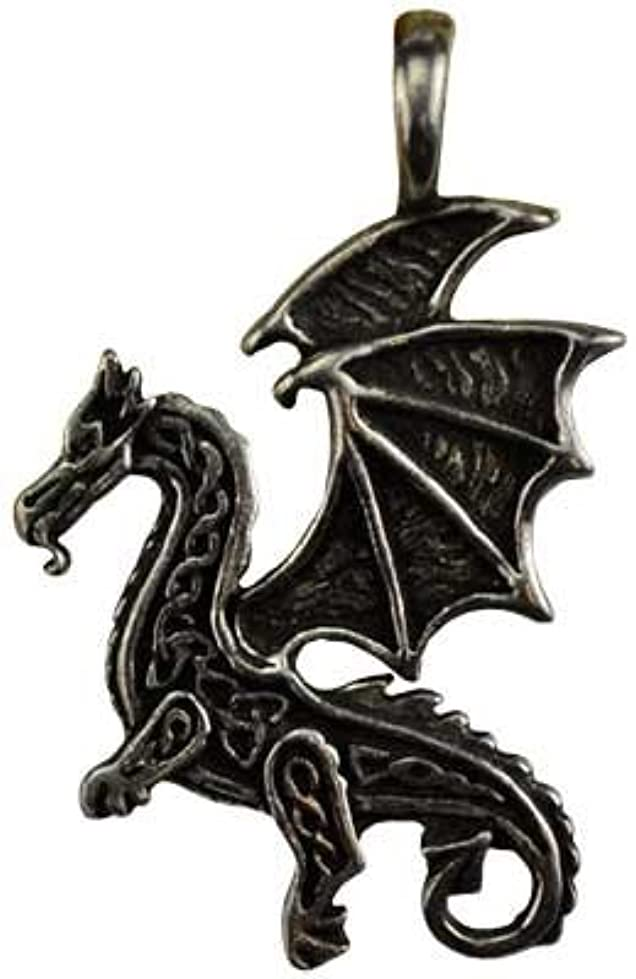 閲覧する地中海責任ケルトFlying Dragon保護アミュレットネックレス