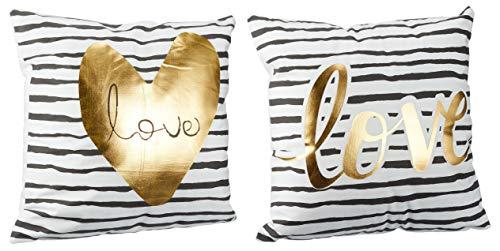 Verschiedene Kissen zur Auswahl/Wohnen/Wohndesign/Zuhause, Anzahl:1er Einzel, Kissen Auswahl:Love Schriftzug Love