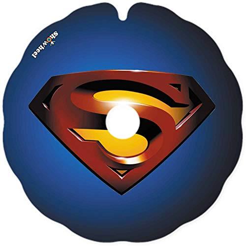 Rollstuhl-Flaschen (ein Paar) – Größe entspricht dem Außendurchmesser des Handlaufs und der Form der Befestigungsfüße – einfaches Anbringen – 'Superman'