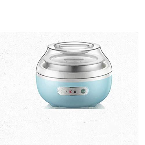 JYDQM Yogurt Maker Yogurt Maker con Tapas Control de Tiempo y Temperatura y diseño for Uso doméstico