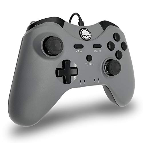 Wired Controller for Xbox One, Xbox Series X|S, PC with Audio Jack & Turbo Function (6FT)