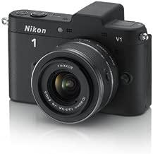 Nikon 1 V1 10.1 MP HD Digital Camera System with 10-30mm VR 1 NIKKOR Lens (Black)