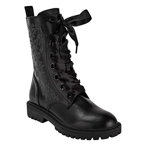 Killstar Combat Boots - Enchanted (Numeric_37)