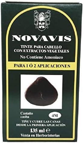 Phytoceutic Herbatint Gel Permanente, 4M/Castaño Caoba, 120 ml