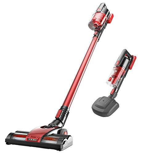 New YZPXCQ X9 Cordless Vacuum Cleaner Stick & Handheld Vacuum with Powerful 9 kPa Suction, 130W 22.0...