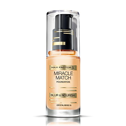 Max Factor Miracle Match Foundation 33 Crystal Beige