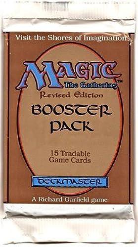 Venta al por mayor barato y de alta calidad. Magic the Gathering Booster Booster Booster Pack Revised Edition by Wizards of the Coast  venta