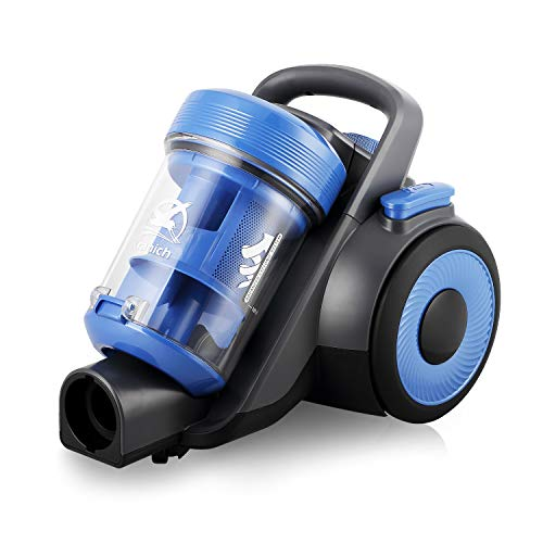 Aspirador sin Bolsa Ciclónico Portatil para hogar aspiradora de Mano Escoba Potente 20Kpa 800W