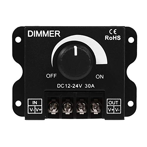 Dimmer Controller 12 V-24 V 30 A LED-schakelaar handmatige bediening voor LED-strips licht eenkleurige LED strip verlichting lamp band licht