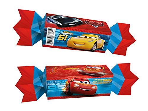 Caixa Bala Fa R298 Cars 3 - Pacote Com 08 Un Regina Colorido