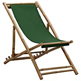 Tumbona, jardín, Patio, Silla, Playa, Tumbona, Silla de Camping, Tumbona, bambú y Lona, Verde