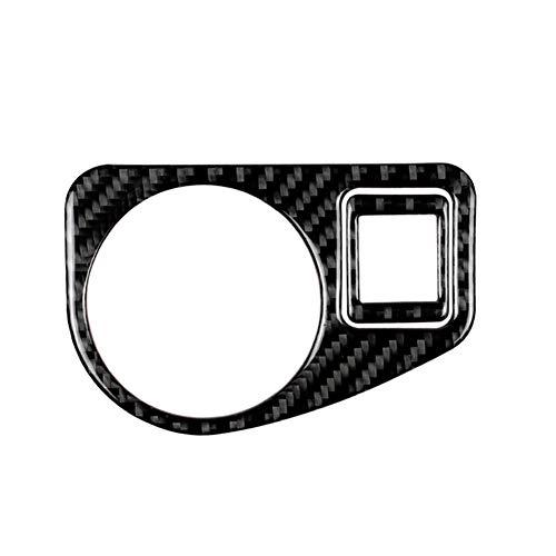 Demarkt Carbon Fiber Scheinwerferschalter Dekorativ Cover Sticker für Golf 7 2013-2017