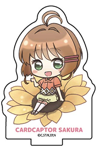 【木之本桜】 アクリルぷちスタンド カードキャプターさくら クリアカード編 05 夏Ver.(ミニキャラ)