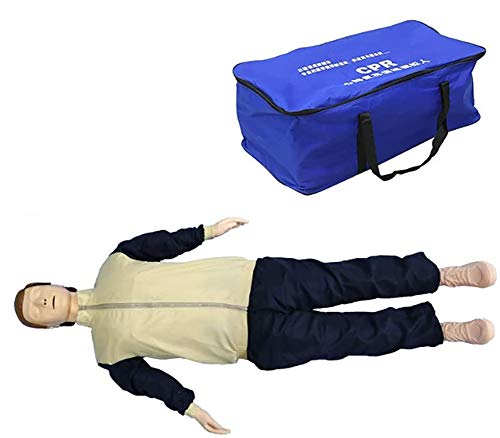 Reanimatie Simulator Full Body, Pre-ziekenhuis Emergency Testpop beademing Dummy Medical CPR Rubber Man
