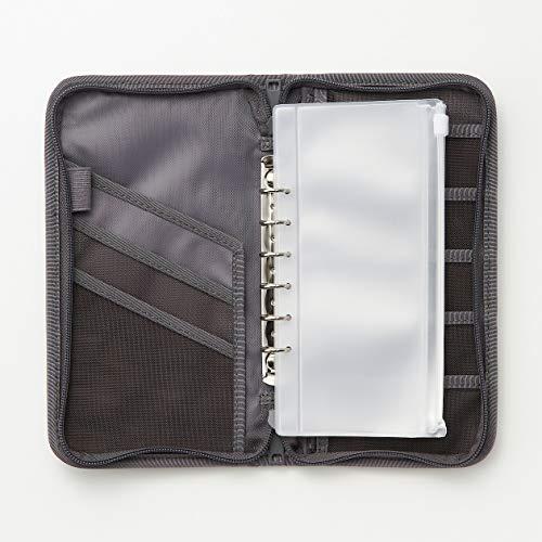 無印良品『ポリエステルパスポートケース・クリアポケット付』