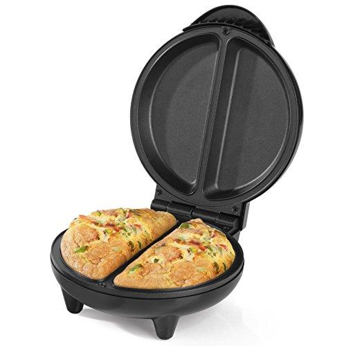 Salter EK2716AS Non-Stick Omelette Maker, 750 W, Dual Plates, Easy Clean,...