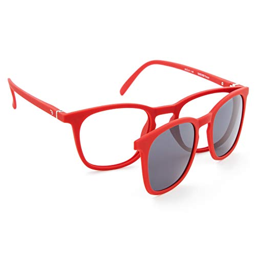 DIDINSKY Gafas de Presbicia con Filtro Anti Luz Azul con Capa de Sol. Gafas Clip on Imantadas para Hombre y Mujer....